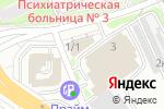 Схема проезда до компании Прогресс-1 в Новосибирске