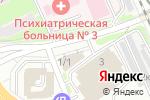 Схема проезда до компании БОНСТРОЙ в Новосибирске