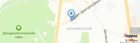СветлячокБ на карте Новосибирска