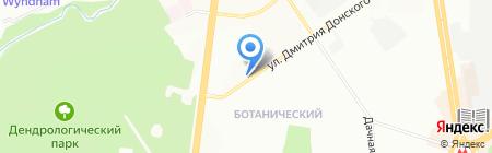 Эстель на карте Новосибирска