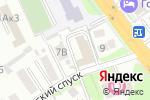 Схема проезда до компании АНТИЛОПА в Новосибирске