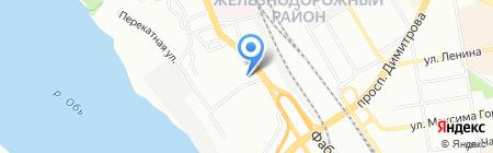 Квалитет на карте Новосибирска