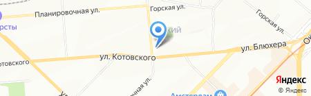 Апогея на карте Новосибирска