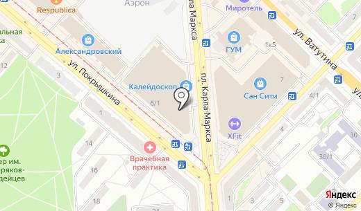 Двери Гуд. Схема проезда в Новосибирске
