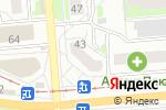 Схема проезда до компании БукетОпт в Новосибирске