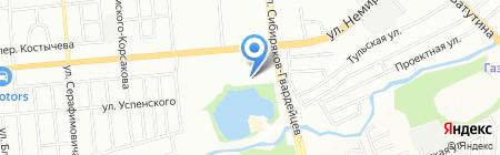 Оргтехкомплект на карте Новосибирска