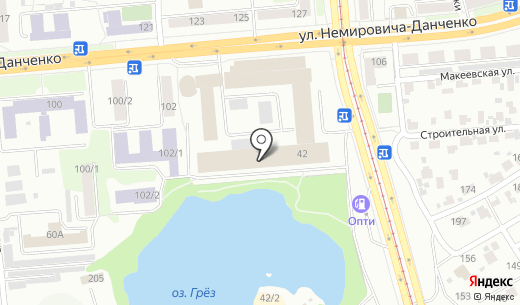 РЕГУЛ. Схема проезда в Новосибирске