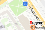 Схема проезда до компании Росгосстрах банк, ПАО в Новосибирске