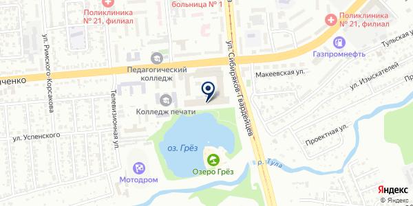 Альфабыт на карте Новосибирске