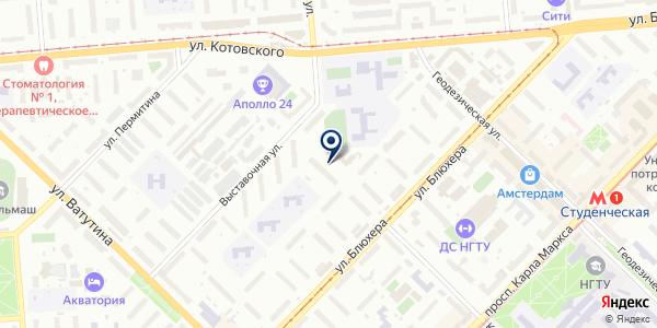 ЭУ-18 на карте Новосибирске