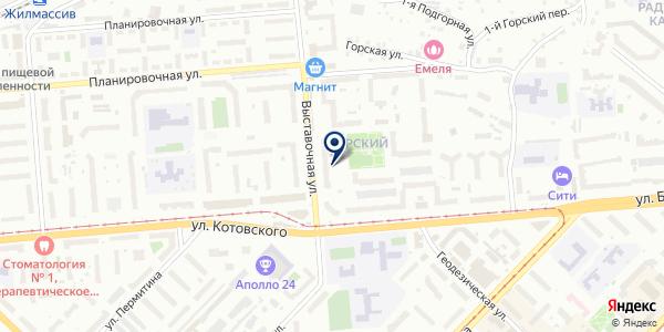 Силуэт на карте Новосибирске