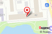 Схема проезда до компании Комтен в Новосибирске