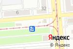 Схема проезда до компании Amigo в Новосибирске
