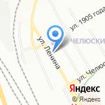 Пресса-Мир на карте Новосибирска