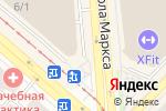 Схема проезда до компании Встройка54 в Новосибирске
