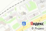Схема проезда до компании АЛЬЯНС НСК в Новосибирске