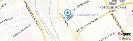 НСК-ОПТ на карте Новосибирска