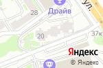 Схема проезда до компании Кофеман в Новосибирске