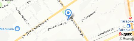 Кофеман на карте Новосибирска