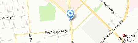 Викор на карте Новосибирска
