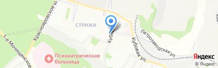 ИНВИТРО на карте Новосибирска