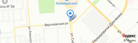 Миниквартал на карте Новосибирска