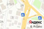 Схема проезда до компании АВТОКОМПЛЕКС НА ЖУКОВСКОГО 4 в Новосибирске