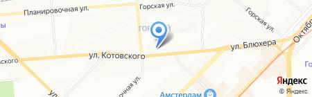 Бережная аптека на карте Новосибирска