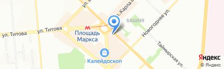 Read.ru на карте Новосибирска