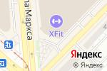 Схема проезда до компании ОКСФОРД в Новосибирске