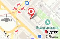 Схема проезда до компании Первая Линия в Новосибирске