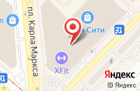 Схема проезда до компании ReLife в Новосибирске