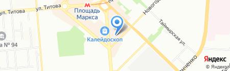 Банкомат КБ Акцепт на карте Новосибирска