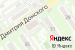 Схема проезда до компании ROSA`consulting group в Новосибирске