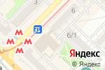 Схема проезда до компании Хот-дог Мастер в Новосибирске