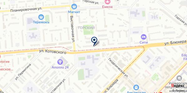 Фотокопировальный центр на карте Новосибирске