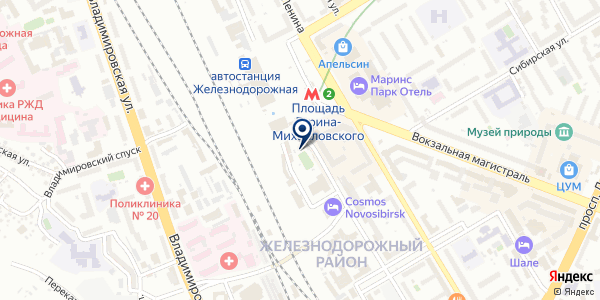 Мастерская по изготовлению ключей на карте Новосибирске