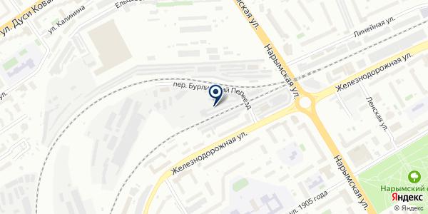 СТОП Клоп на карте Новосибирске