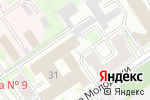 Схема проезда до компании Аверсиб в Новосибирске