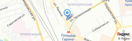 Система косметикс на карте Новосибирска