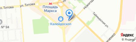 MillefaMille на карте Новосибирска