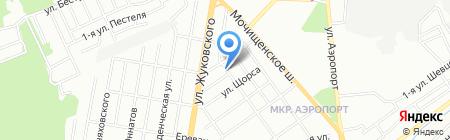 МЕГАСТРОЙ на карте Новосибирска