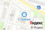 Схема проезда до компании Red Nails в Новосибирске