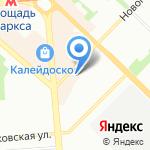 Магазин автозапчастей для Suzuki на карте Новосибирска