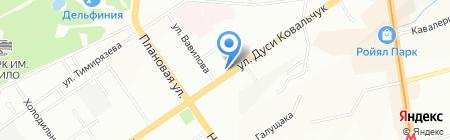 Сантехник на карте Новосибирска