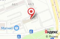 Схема проезда до компании Сптех в Новосибирске