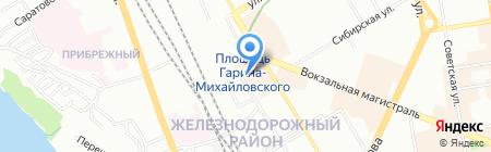 Банкомат Хоум Кредит энд Финанс Банк на карте Новосибирска