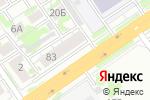 Схема проезда до компании Вольтаж в Новосибирске