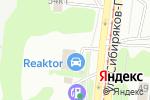 Схема проезда до компании РЕАКТОР в Новосибирске