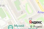 Схема проезда до компании Пенсионеры-online в Новосибирске